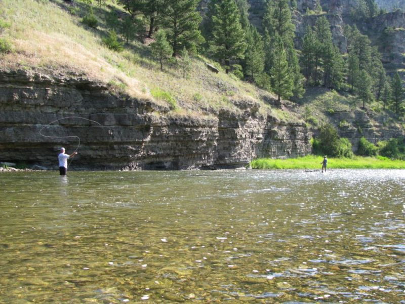 Rafting the west smith river for Montana out of state fishing license