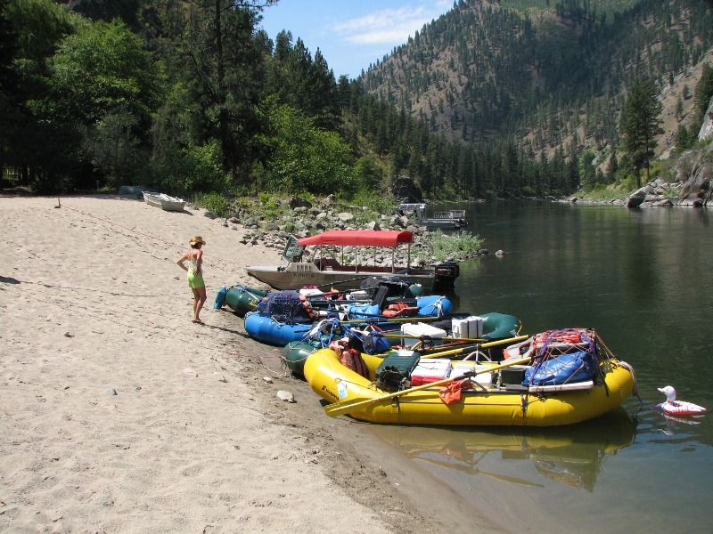 Rafting the West   Rafts