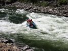 Raft in Cramer Rapid